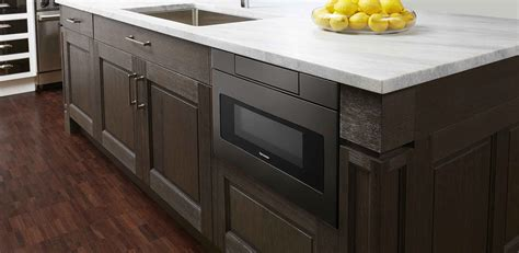 stainless steel kitchen island with drawers smd2470ah 24 quot black stainless steel microwave drawer 9401