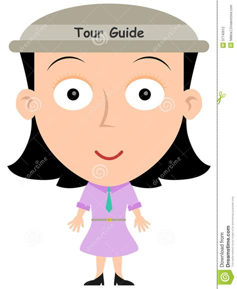 tour bureau tour guide stock photography image 37740612