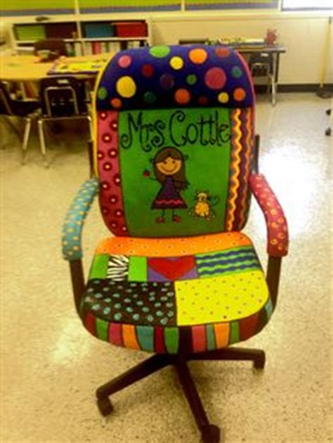 1000 ideas about painted chair on