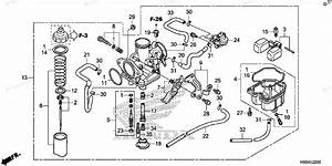 Honda Atv 2017 Oem Parts Diagram For Carburetor