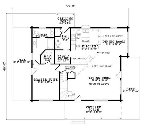 2 bed 2 bath house plans plan 110 00928 2 bedroom 2 bath log home plan