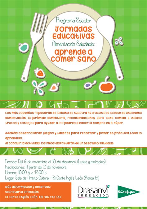 jornadas educativas sobre alimentacion saludable