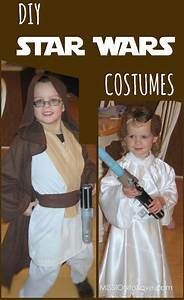 Star Wars Diy : diy star wars costumes jedi and princess leia mission to save ~ Orissabook.com Haus und Dekorationen