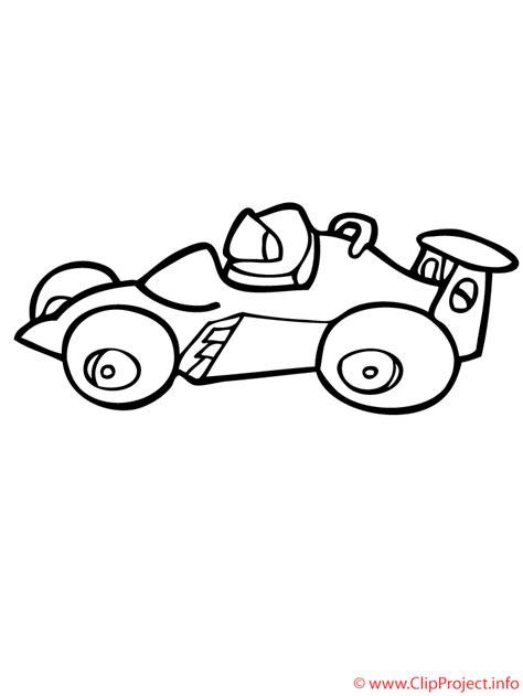 malvorlagen fur kinder ausmalbilder rennauto kostenlos
