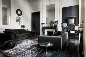 Pierre Paris Design : habitually chic black and white and chic all over ~ Medecine-chirurgie-esthetiques.com Avis de Voitures