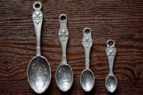 Crosby & Taylor Fleur De Lys Measuring Spoons