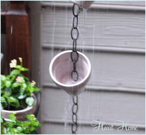 hometalk diy rain chain