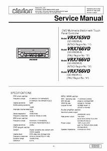 Clarion Vrx755vd Wiring Diagram