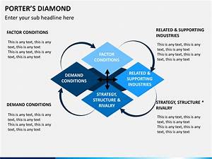 Porter U0026 39 S Diamond Powerpoint Template