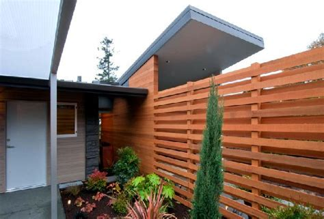 love  fence modern  minimalist mid century home renovation ideas midcenturyhomedesign