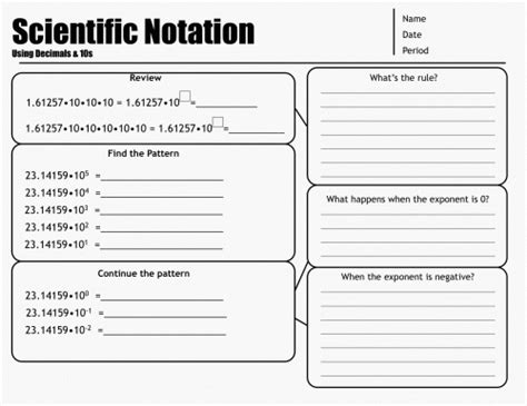 word problems scientific notation worksheet worksheets for
