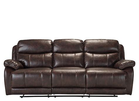 what to look for in a leather sofa toby microfiber leather look reclining sofa brown