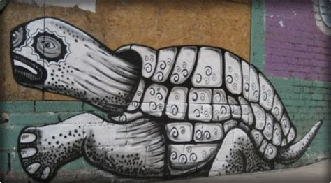 phlegm news street art  graffiti fatcap