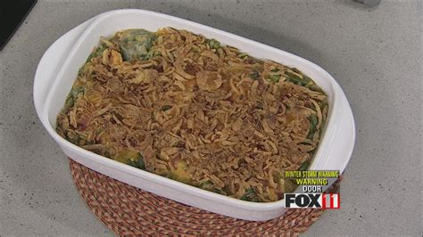 cheesy bacon green bean casserole youtube