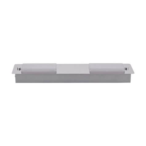 faretti led da soffitto plafoniera da soffitto rettangolare con 2 faretti led 9w
