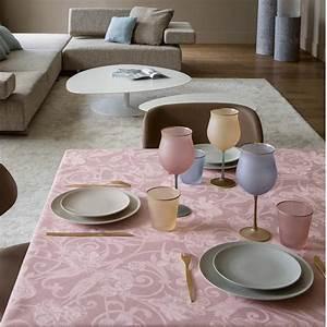 Tissu Rose Poudré : nappe au metre lin rose ~ Teatrodelosmanantiales.com Idées de Décoration