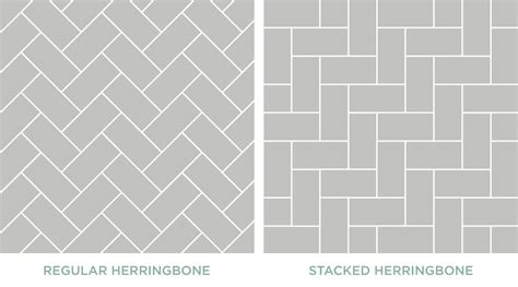 why are falling in with herringbone tile