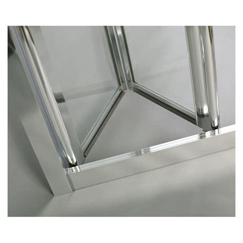 mitigeur de cuisine avec douchette paroi de d 39 angle porte pliante accès sur coté