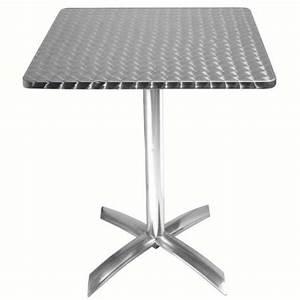 Table Ronde Aluminium : table rabattable ronde 60cm matoreca ~ Teatrodelosmanantiales.com Idées de Décoration