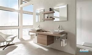 Meubles salle de bains bois Jacob Delafon Espace Aubade