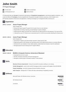 Best Resume Builder Online  Create A Resume In A Few Clicks