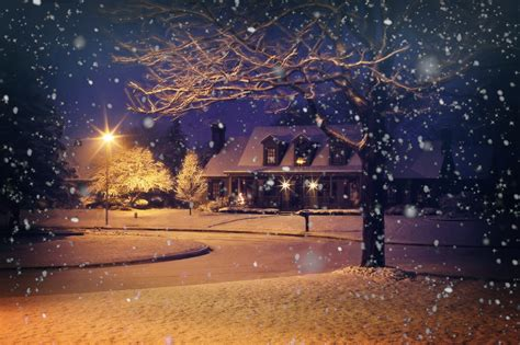 Snow Lights by Free Images Light Sunlight Home Evening Weather