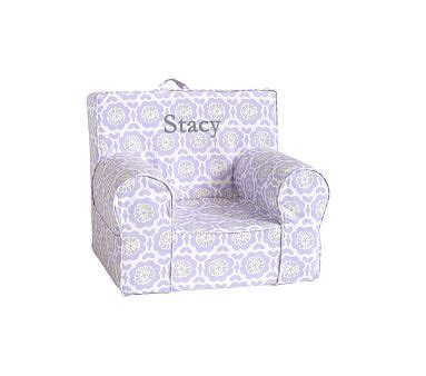 lavender anywhere chair pottery barn gray and lavender my anywhere chair