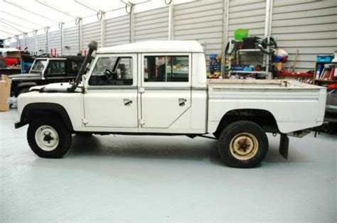 sell   lhd land rover defender   litre double