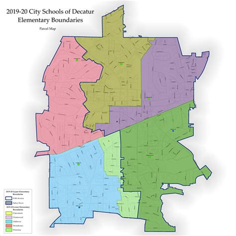 enrollment process school boundary map