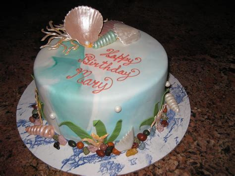 Sugar Chef Ocean Theme Cake