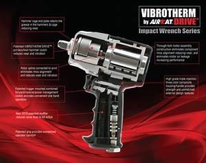 Aircat Pneumatic Tools Vibrotherm Drive Impact Wrench