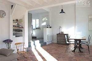 murs blancs gris Tomettes Pinterest Décoration, Vintage et Paris