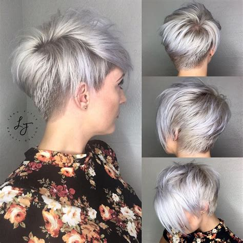 Pixie Stacked Hairstyles by Just Haircuts Nothing Else If You Re Thinking Of