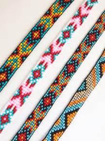 Simple Bead Loom Bracelet Patterns