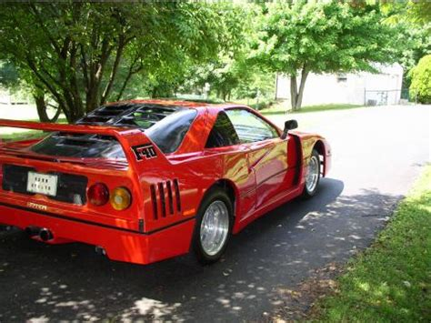 F40 Kit Car by 1986 Pontiac Fiero F40 Kit Car For Sale Freerevs