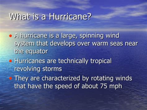 what is a hurricane l hurricanes typhoons