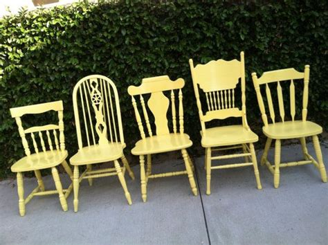 shabby chic chairs set of 6 mix and match custom vintage