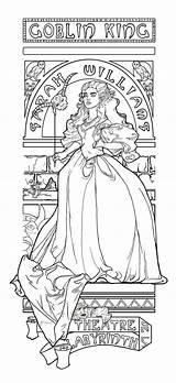 Coloring Labyrinth Lagoon Creature Colouring Adult Jareth Khallion Deviantart Theatre Printable Boom Sheets Nouveau Anime Coloriage Imprimer Desenhos Colorir Template sketch template