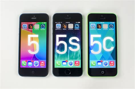 iphone 5 vs 5s iphone 5s vs iphone 5c vs iphone 5 benchmark tests