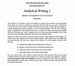 a student mind gre sections from the workshop strategy book With gre issue essay template