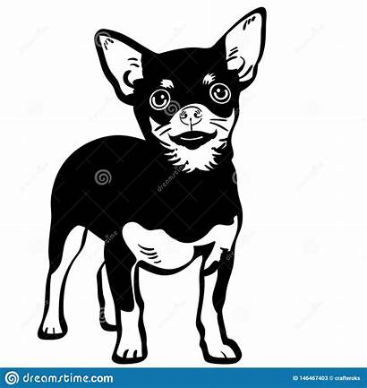 Svg Silhouette Vector Dxf Icon Chihuahua Clipart