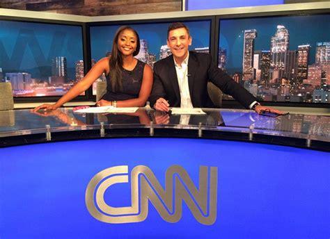 Look Inside 'cnn Newsroom' Los Angeles Rehearsals