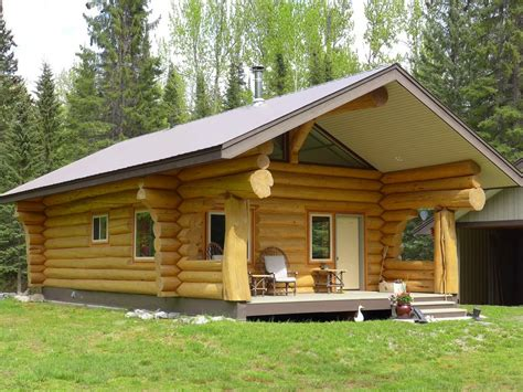 Bc Log Homes And Log Cabins For Sale  Canada » Horsefly