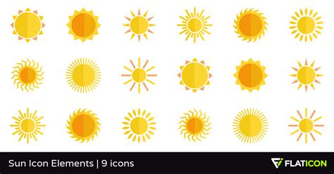home design courses sun icon elements 9 free icons svg eps psd png files