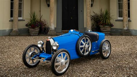 It is the same material used for the bugatti chiron badge. Bugatti Baby II Is An Adult Man's Toy Car From Bugatti I Your Next Vehicle