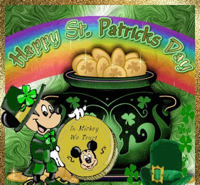mickey mouse saint patricks day animated gifs gifmania