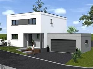 de maison en bois de reve toit plat achat With photo maison toit plat 14 agrandir teraa