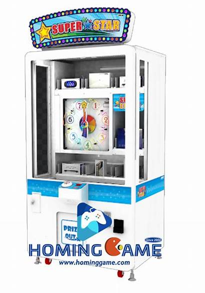 Coin Skill Win Prize Arcade Operated Redemption