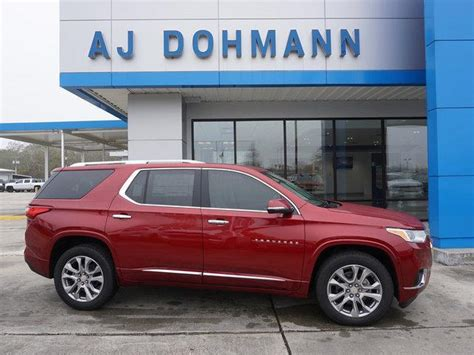 Dohmann Chevrolet by Cajun Tintcoat 2019 Chevrolet Traverse Fwd 1lz New