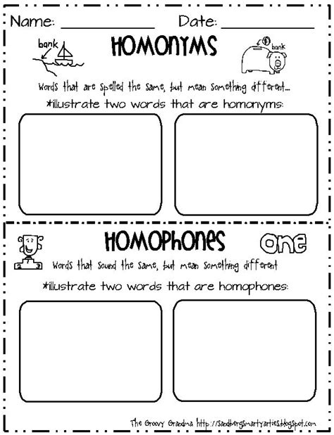 17 Best Images About Homophoneshomonyms On Pinterest  Anchor Charts, Charts And Pears